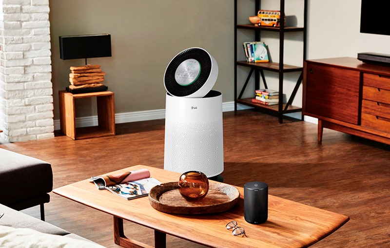 Fight the haze with LG's new PuriCare air purifier