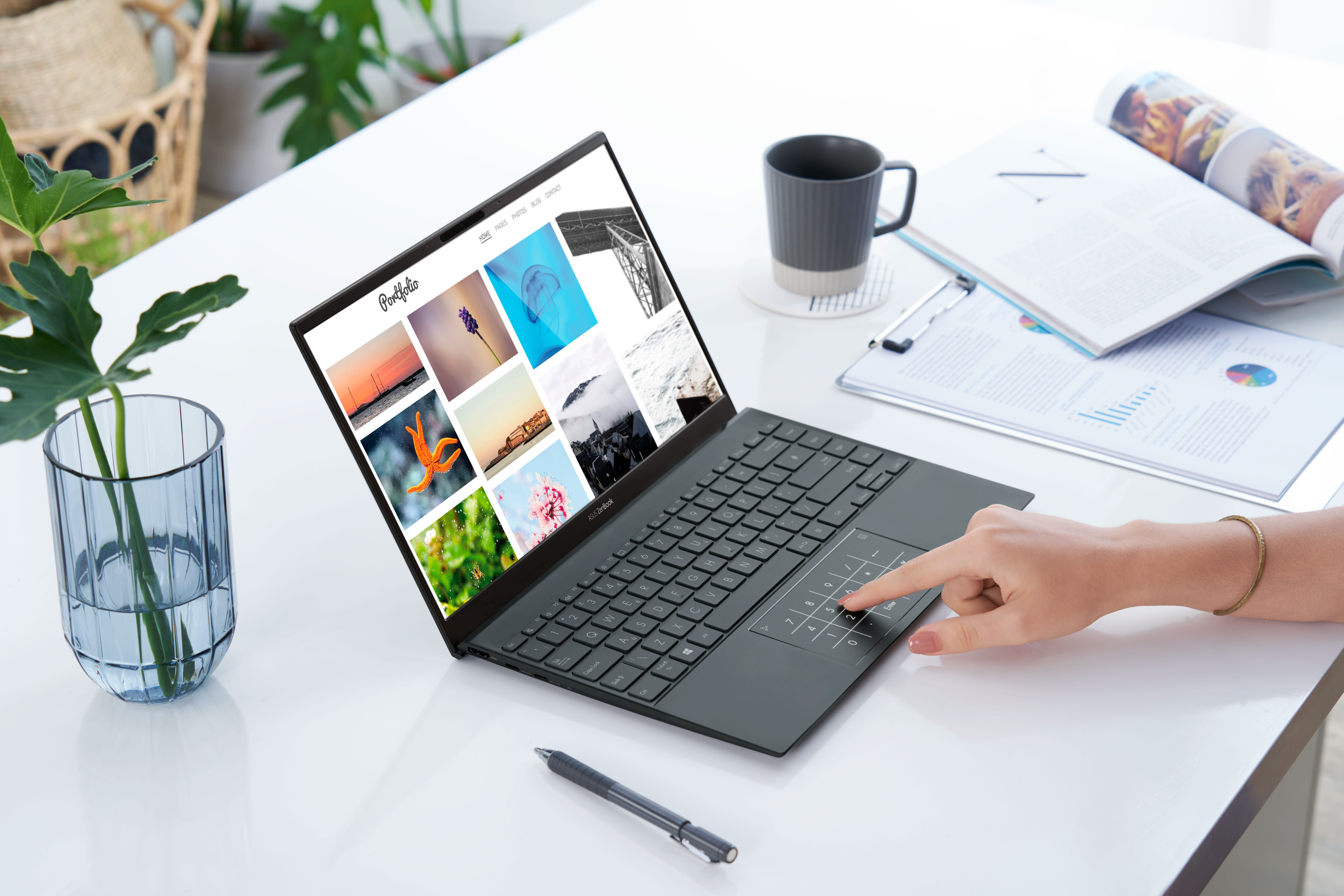 New ZenBook 14 is more portable than ever.